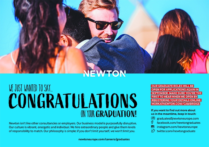 Newton, Europe, Print, Advert, Cambridge, University
